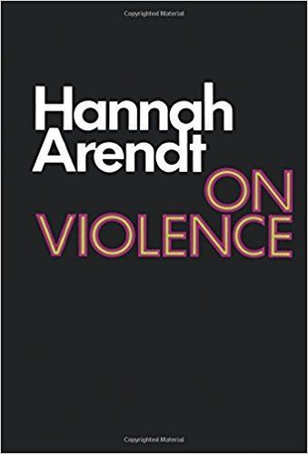 Book Cover: On Violence