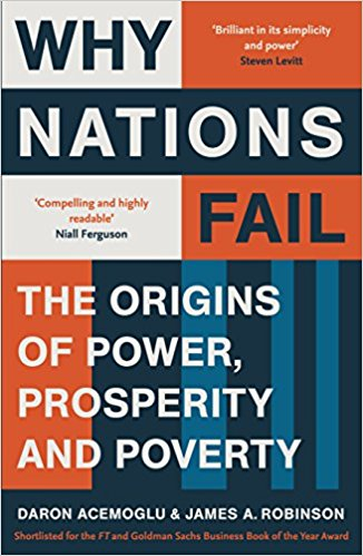 Book Cover: Why Nations Fail